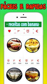 Receitas Com Banana Rápidos screenshot 1