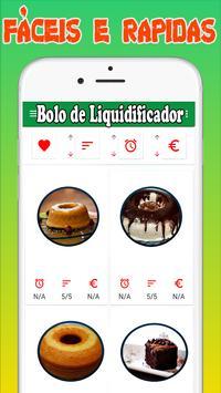 Bolo de Liquidificador screenshot 1