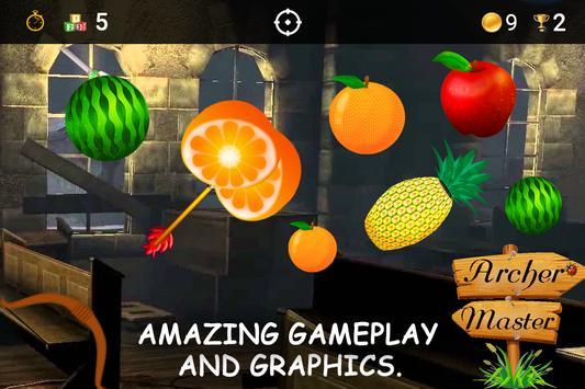 Archery Fruit Shoot Game 2018 screenshot 3
