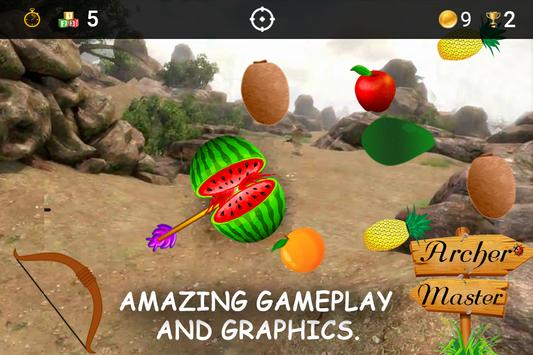 Archery Fruit Shoot Game 2018 poster