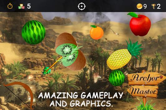 Archery Fruit Shoot Game 2018 screenshot 4