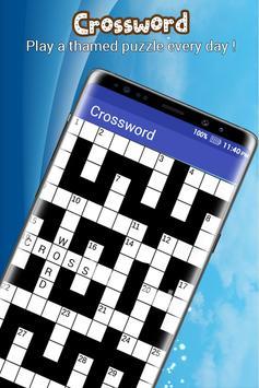 Crossword Puzzle : Fill-In Crosswords poster