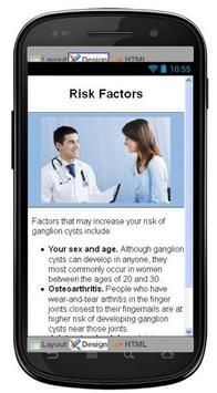 Ganglion Cyst Information screenshot 3