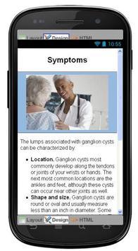 Ganglion Cyst Information screenshot 1