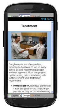 Ganglion Cyst Information screenshot 6