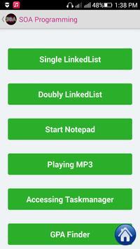 SOA and Web Services Tutorial apk screenshot