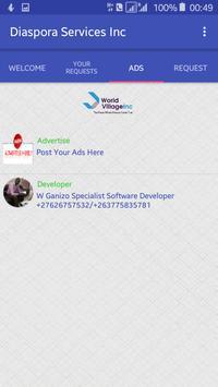 Diaspora Services apk screenshot