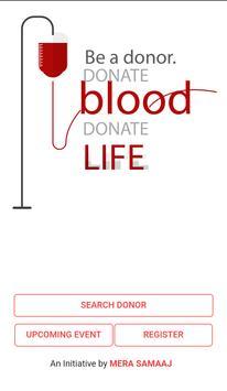 Blood Donation Helpline apk screenshot