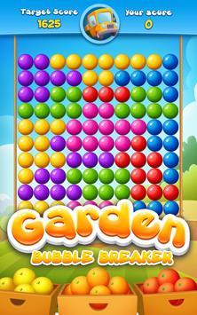 Garden Bubble Breaker poster
