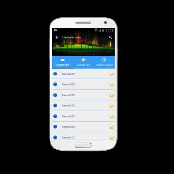 Audio Bible KJV screenshot 1