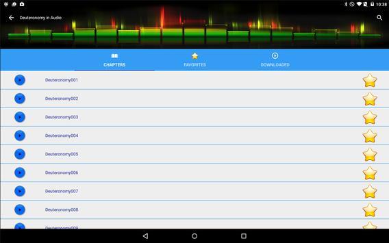 Audio Bible KJV screenshot 8