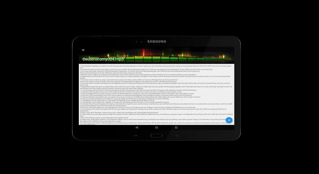 Audio Bible KJV screenshot 9