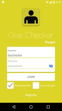 Gas Checker poster