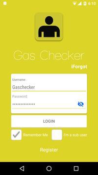 Gas Checker poster