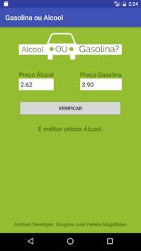 Gasolina ou Álcool screenshot 1