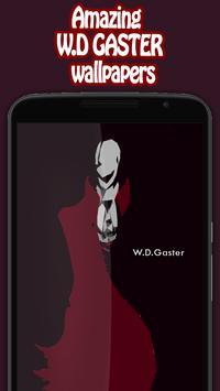 Gaster sans wallpaper apk screenshot