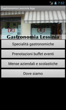 Gastronomia lessinia apk screenshot