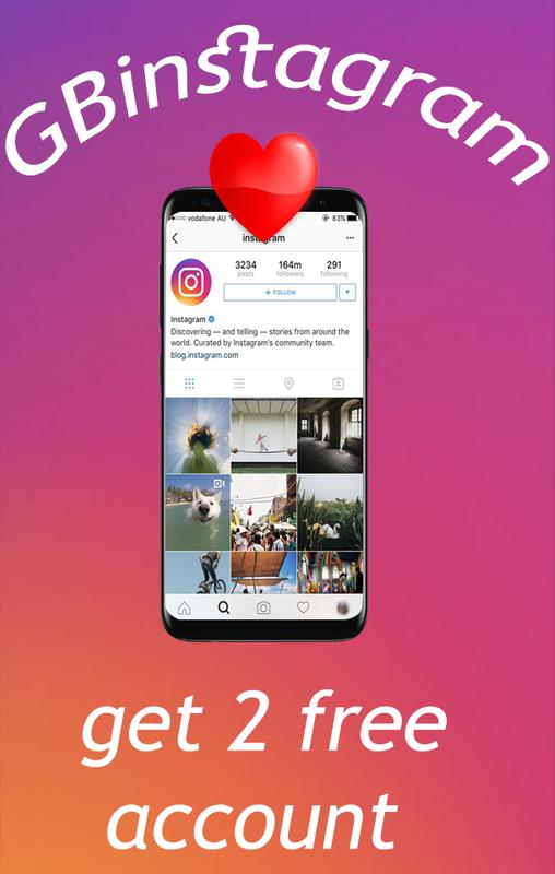 New Gbinstagram Plus 2018 For Android Apk Download