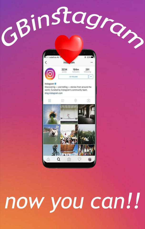 New GBinstagram plus 2018 for Android - APK Download