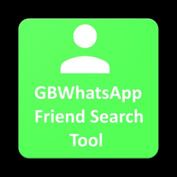 Friend Search Tool for 🆕 GBWhatsapp poster