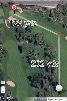 Map Caddie Golf GPS screenshot 2