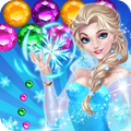 Ice Queen Game Bubble Shooter