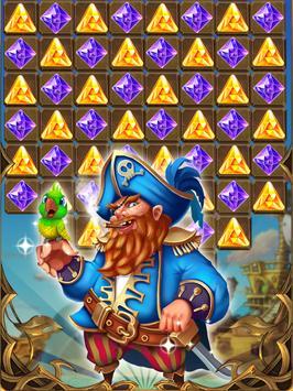 Jewels Hunter Pirate screenshot 1