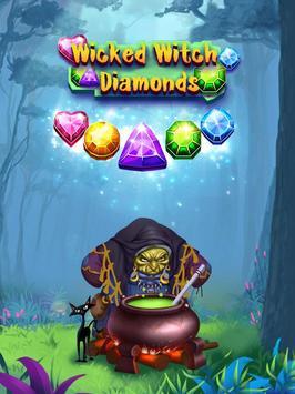 Wicked Witch Diamonds poster