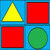 Color Text Shape icon