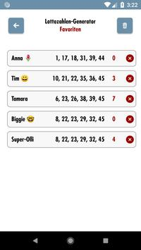 6 aus 49 Lottozahlen Generator screenshot 3