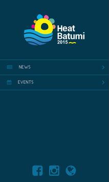 Heat Batumi 2015 poster