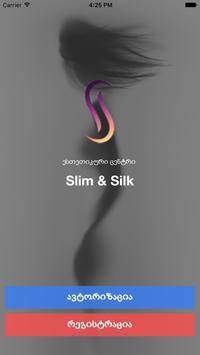 Slim & Silk poster