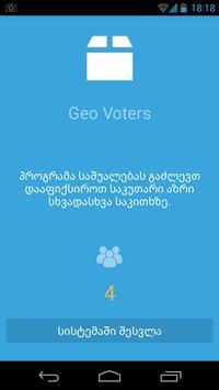 Geo Voters poster