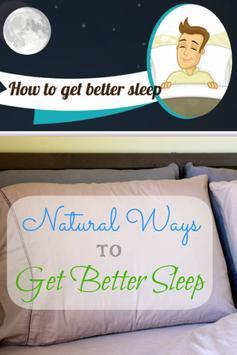 Get Better Sleep Now! poster