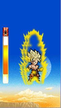 super goku tap saiyan Z Transformation poster