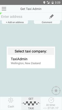Get Taxi Admin poster