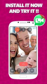 Video call for Whatsapp Joke screenshot 1