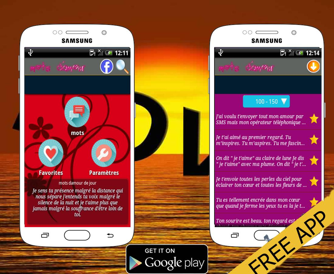 Mots Damour 2016 For Android Apk Download