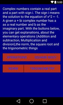 Complex Numbers poster