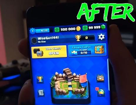 Free Gems Clash Royale Tips screenshot 3