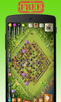 Gems For Clash Of Clans&Royale poster