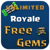 Gems For Clash Royale 10K Free icon