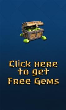 Gems For Clash Royale 10K Free poster
