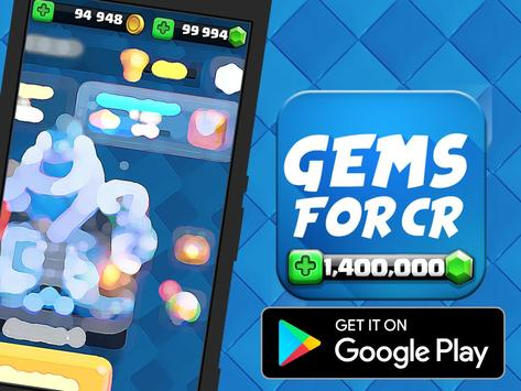 Get Gems Clash Royale - Prank apk screenshot