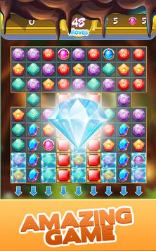 Gem Quest - Jewelry Challenging Match Puzzle poster