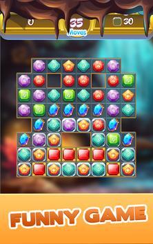 Gem Quest - Jewelry Challenging Match Puzzle screenshot 11