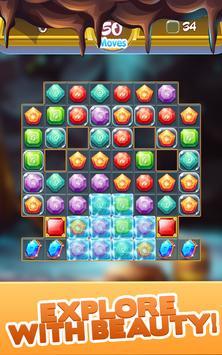 Gem Quest - Jewelry Challenging Match Puzzle screenshot 12