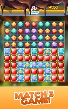 Gem Quest - Jewelry Challenging Match Puzzle screenshot 13
