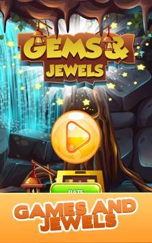 Gem Quest - Jewelry Challenging Match Puzzle screenshot 23
