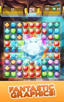 Gem Quest - Jewelry Challenging Match Puzzle screenshot 2